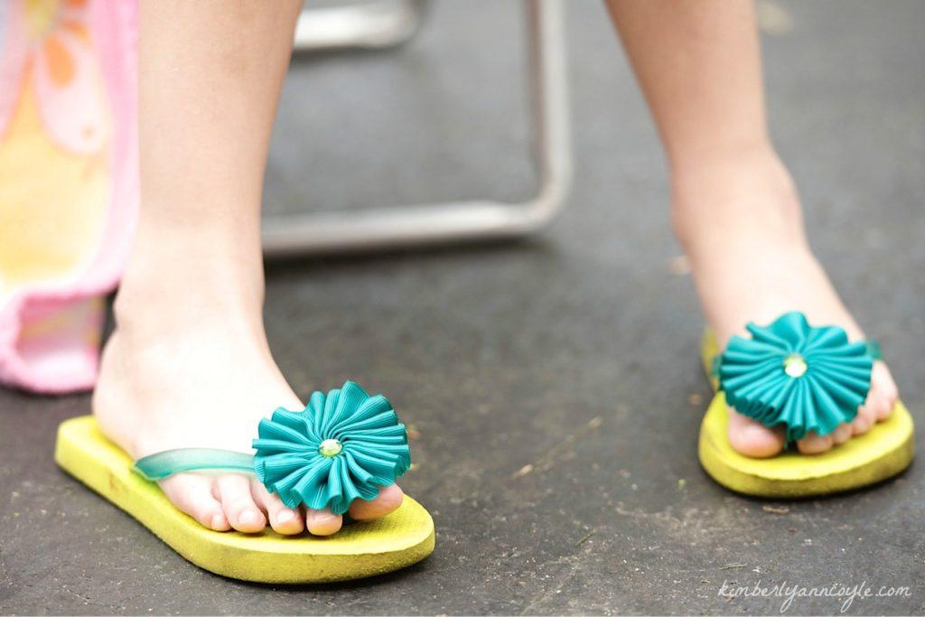 flip flop via kimberlyanncoyle.com