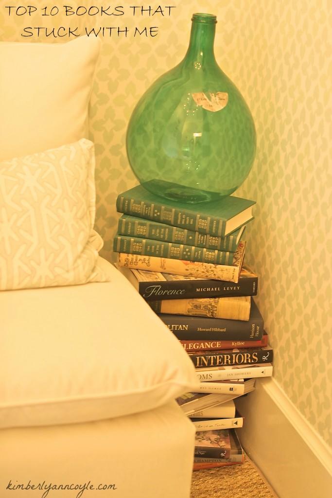 top 10 books via kimberlyanncoyle.com