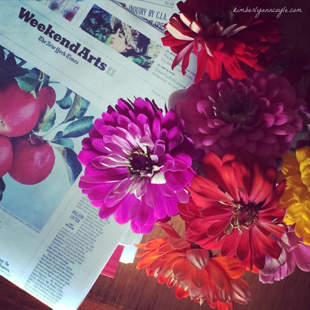 words and flowers via kimberlyanncoyle.com