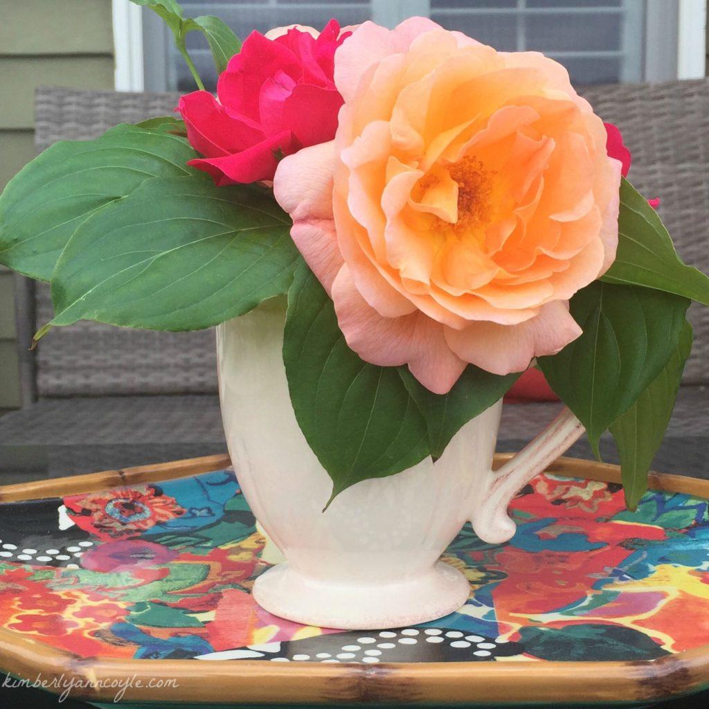roses via kimberlyanncoyle.com